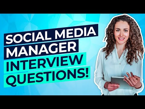 SOCIAL MEDIA MANAGER Interview Questions & Answers! (PASS your Social Media Management Interview!)
