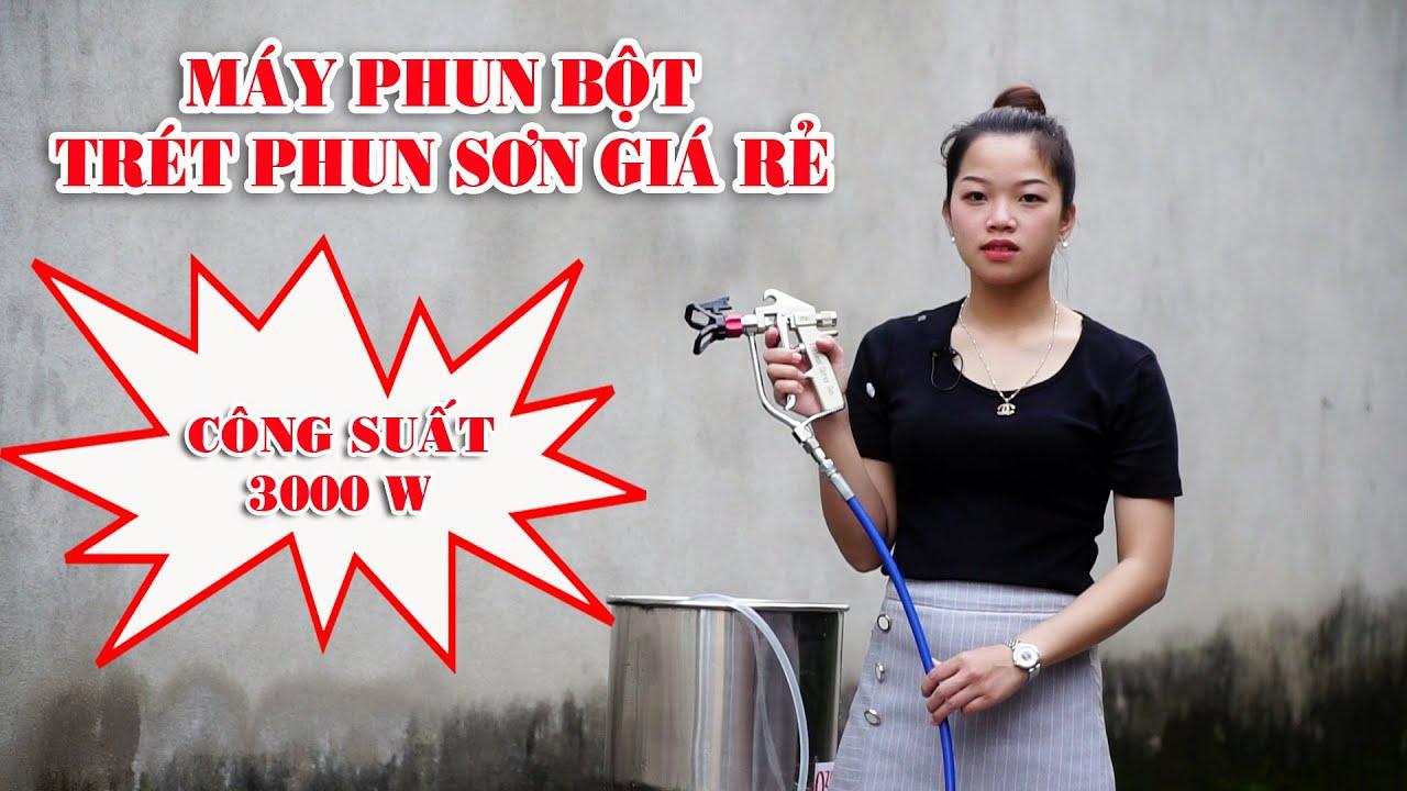 Máy Phun Bột Trét Bả GK 7000 Model 2019 Giá Rẻ  Công Suất 3000 W