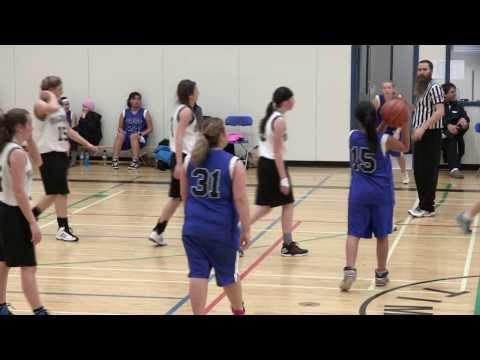 Valemount Secondary School Basketball - Valemount Girls 9's vs. Fort St. James