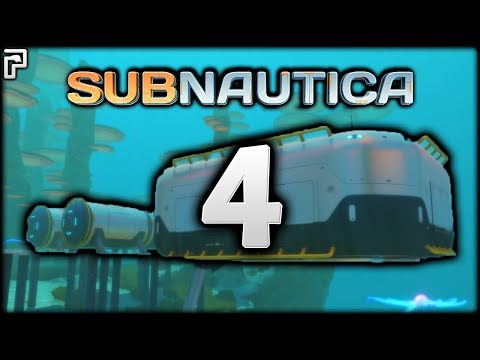 Subnautica | Making Our FIRST Base! Moonpool! | Subnautica Gameplay/Let's Play [Episode 4]