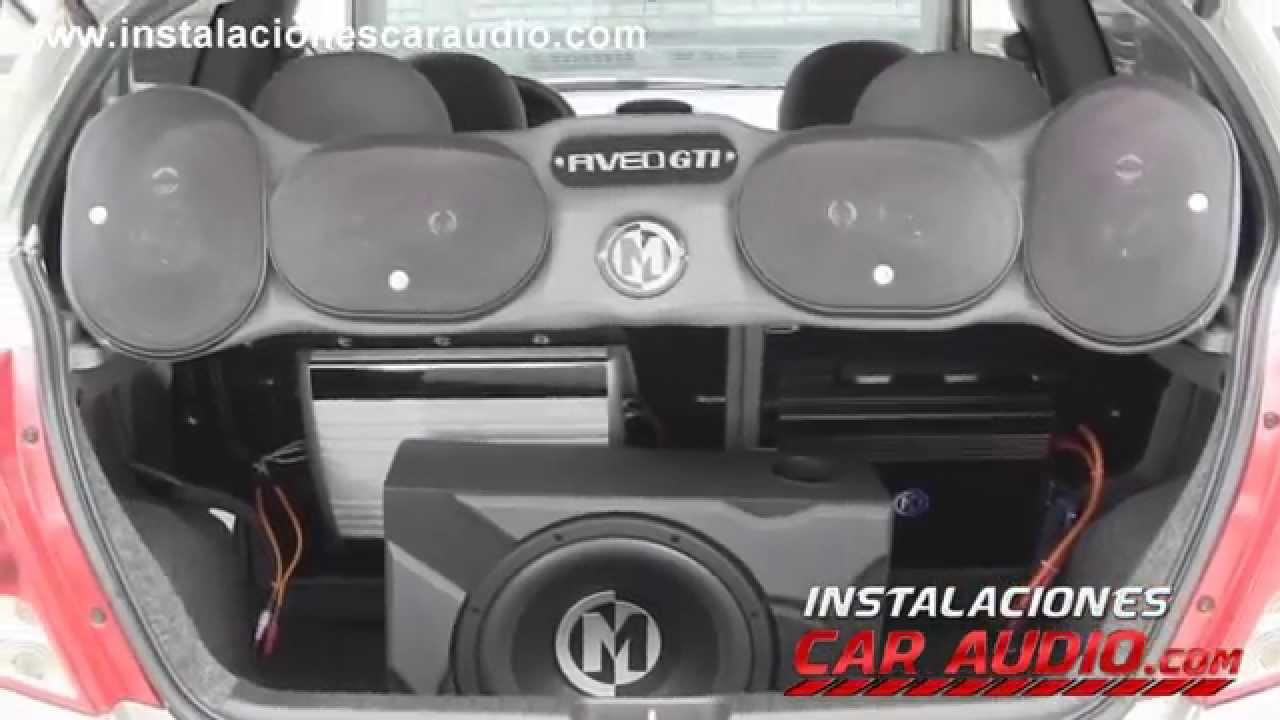 Instalaci 243 N Car Audio Montaje Aveo Gti 4 Parlantes