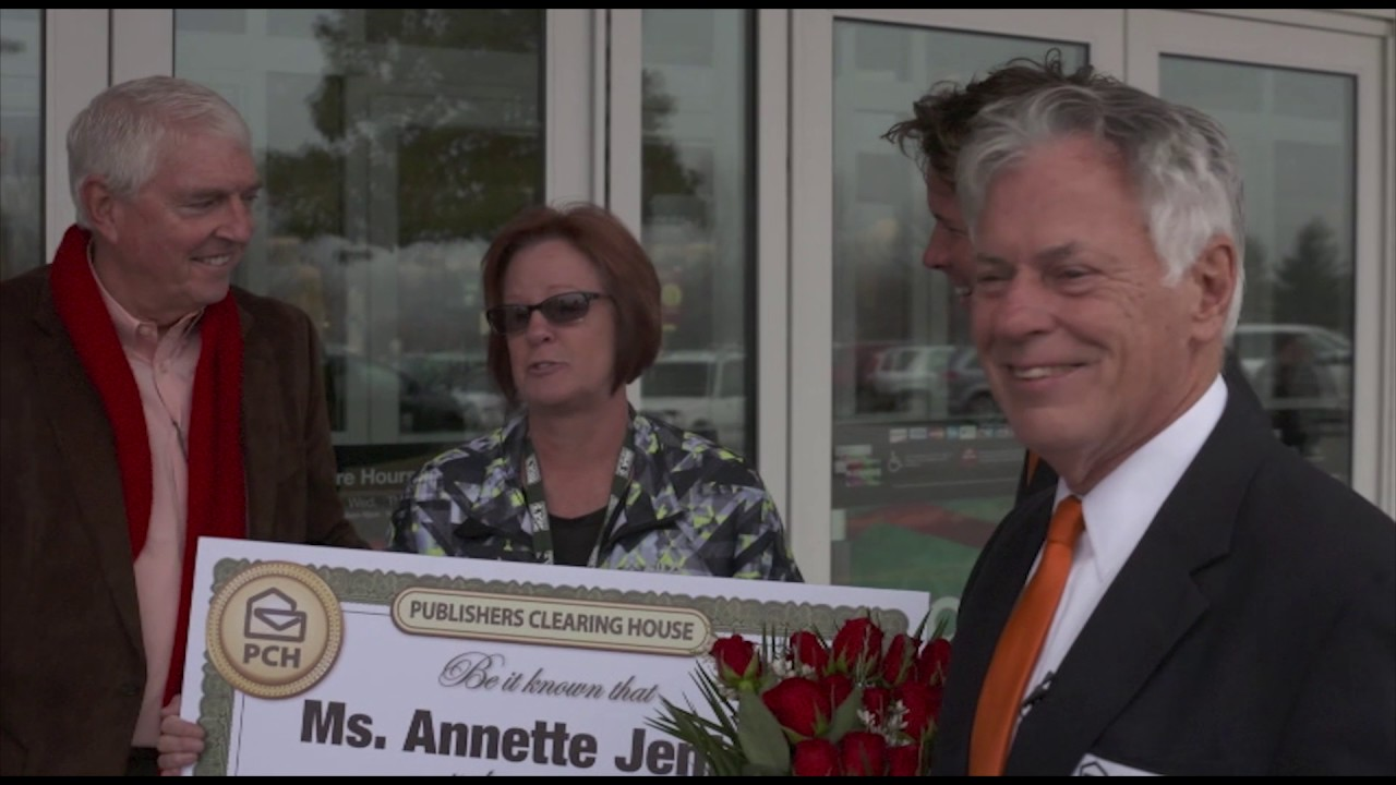 PCH $1 Million Winner - Annette Jenkins