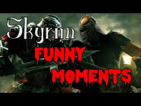 Skyrim Funny Moments (Vampire Hate, Orc Fashion Design, Dark Brotherhood)