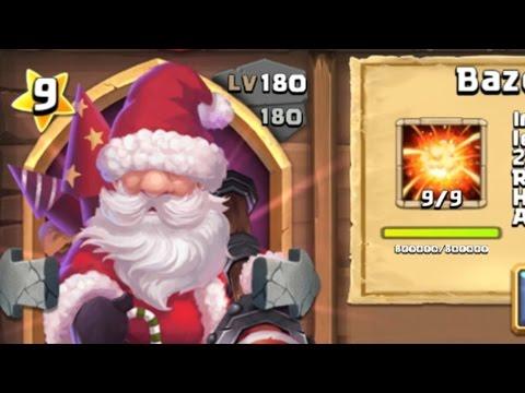Castle Clash - Santa Boom 9/9 180