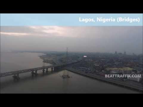 Longest Bridge in Africa. (3rd Mainland Bridge)