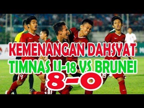 Inilah Kemenangan Dahsyat Timnas U-18 Melawan Brunei Darussalam