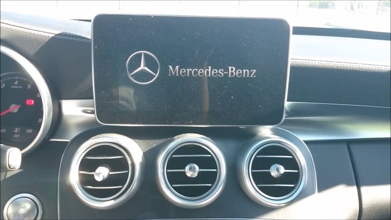 DVD / TV / USB / Navigation unlocking in a W205 Mercedes Benz