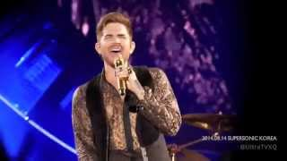 [720p]140814 Queen+adam lambert I was born to love you at supersonic korea