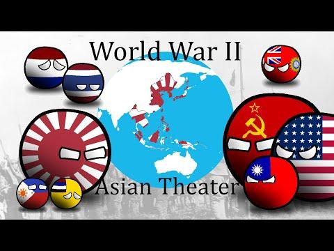 World War 2 | Countryballs | 1937 - 1945 | Asian Theater |