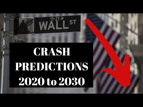 Stock Market Crash – My Stock Market Predictions for 2019 and Next Decade