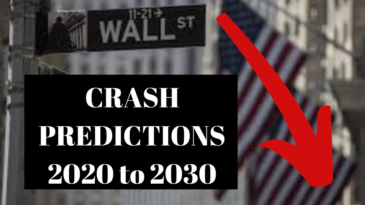 Stock Market Crash - My Stock Market Predictions for 2019 and Next Decade