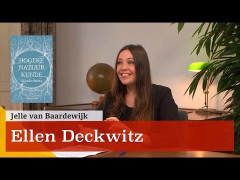 """""""Poëzie, politiek en trauma verwerking."""" Een gesprek met Ellen Deckwitz"""