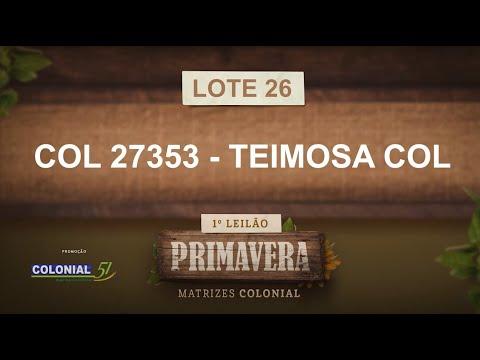 LOTE 26   COL 27353