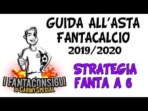 STRATEGIA E GESTIONE BUDGET ASTA A 6   GUIDA ASTA FANTACALCIO 2019/2020
