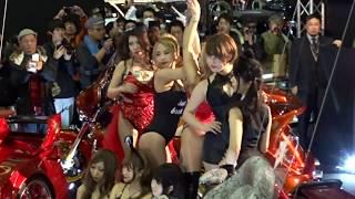 ゴードン Gordon ポールダンス 美人コンパニオン 東京オートサロン2018 ポールダンス 検索動画 24