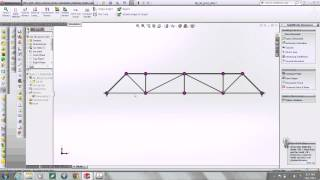Solidworks: Model A Bridge Truss