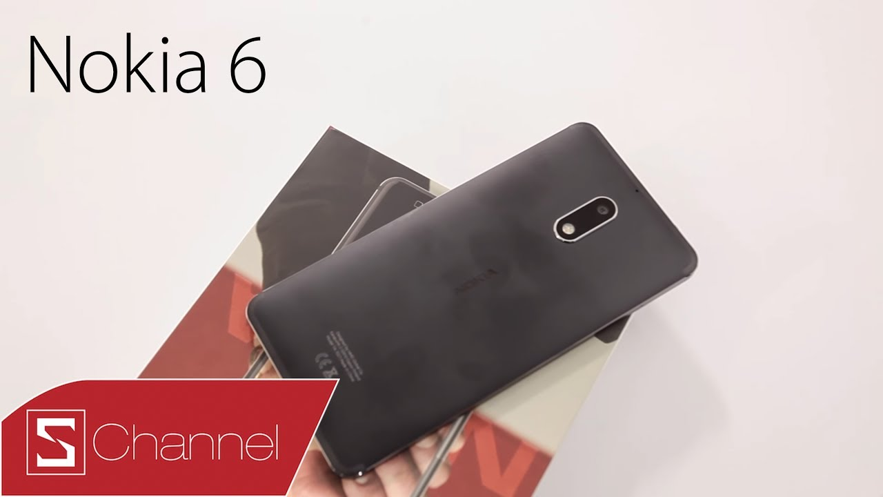 Schannel Schannel - Mở hộp Nokia 6 chính hãng giá 5 59 triệu: Nokia