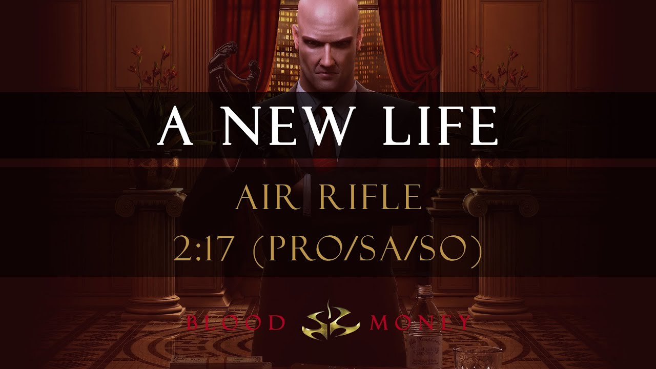 Hitman Blood Money A New Life Air Rifle 2 17 Pro Sa So Youtube