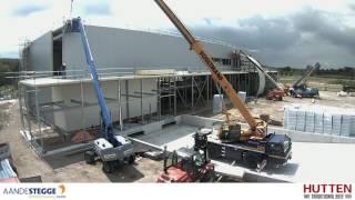 Time lapse nieuwbouw Hutten Beef
