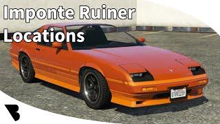 GTA Online Imponte Ruiner Location