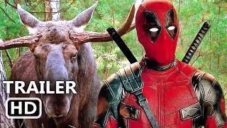 "DEADPOOL 2 ""Deadpool Loves Canada"" Trailer (2018) Superhero Movie HD"