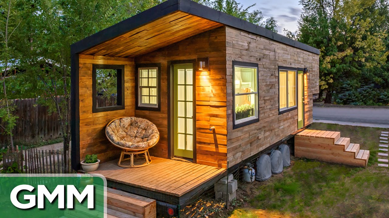 Could You Live in a Tiny Home YouTube