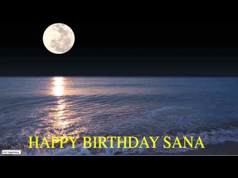 Sana  Moon La Luna - Happy Birthday