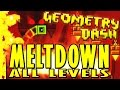 Geometry Dash Meltdown The Seven Seas Viking Arena And Airborne Robots ALL COINS mp3