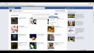 2012 Facebook: How to Make Your Friend's List Private