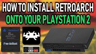 Install & Setup RetroArch On PlayStation 2!