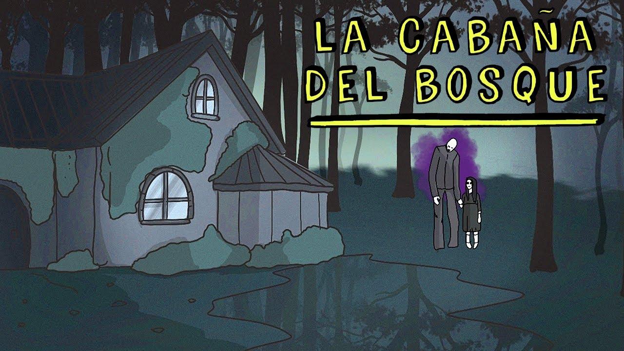 La cabaña del bosque. Terribles sucesos en la oscuridad 🌘 Draw My Life Historia de Terror