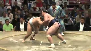 平成25年秋場所12日目 新十両の照ノ富士が好調 sumo 大相撲.