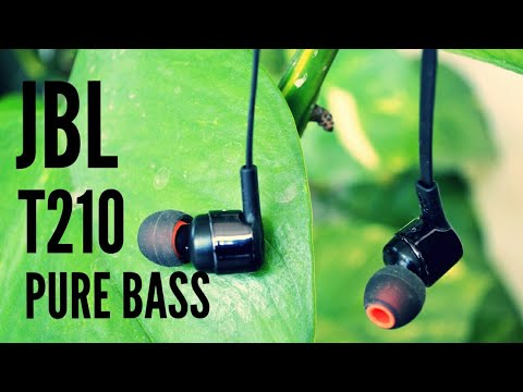 a564b622bf3 JBL T210 unboxing and review [ pure bass ] - YouTube