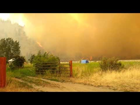 Carlton complex fire