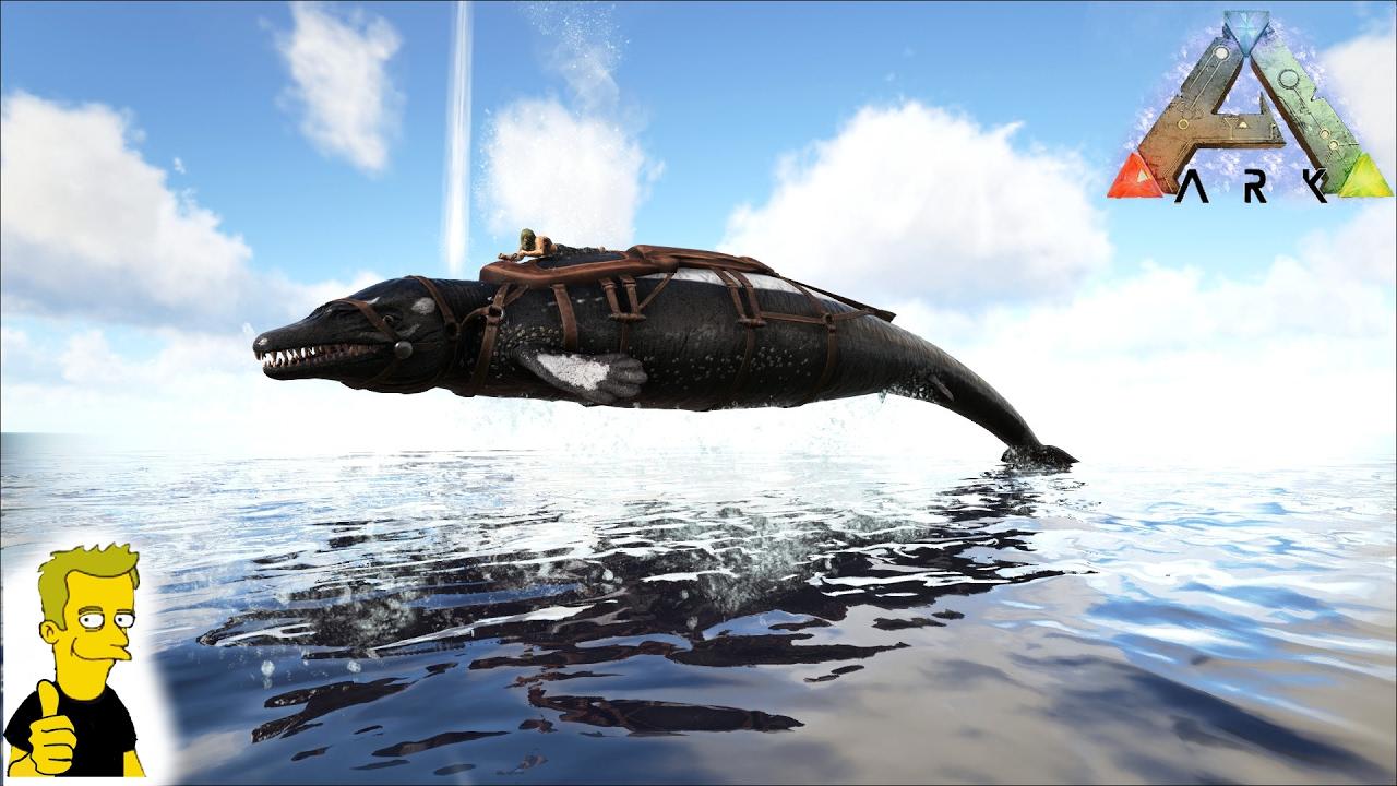 ARK: Survival Evolved BASILOSAURUS TAME!!