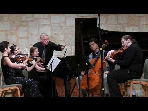 Cactus Pear Young Artists perform the Finale of Brahms Piano Quintet, Op. 34