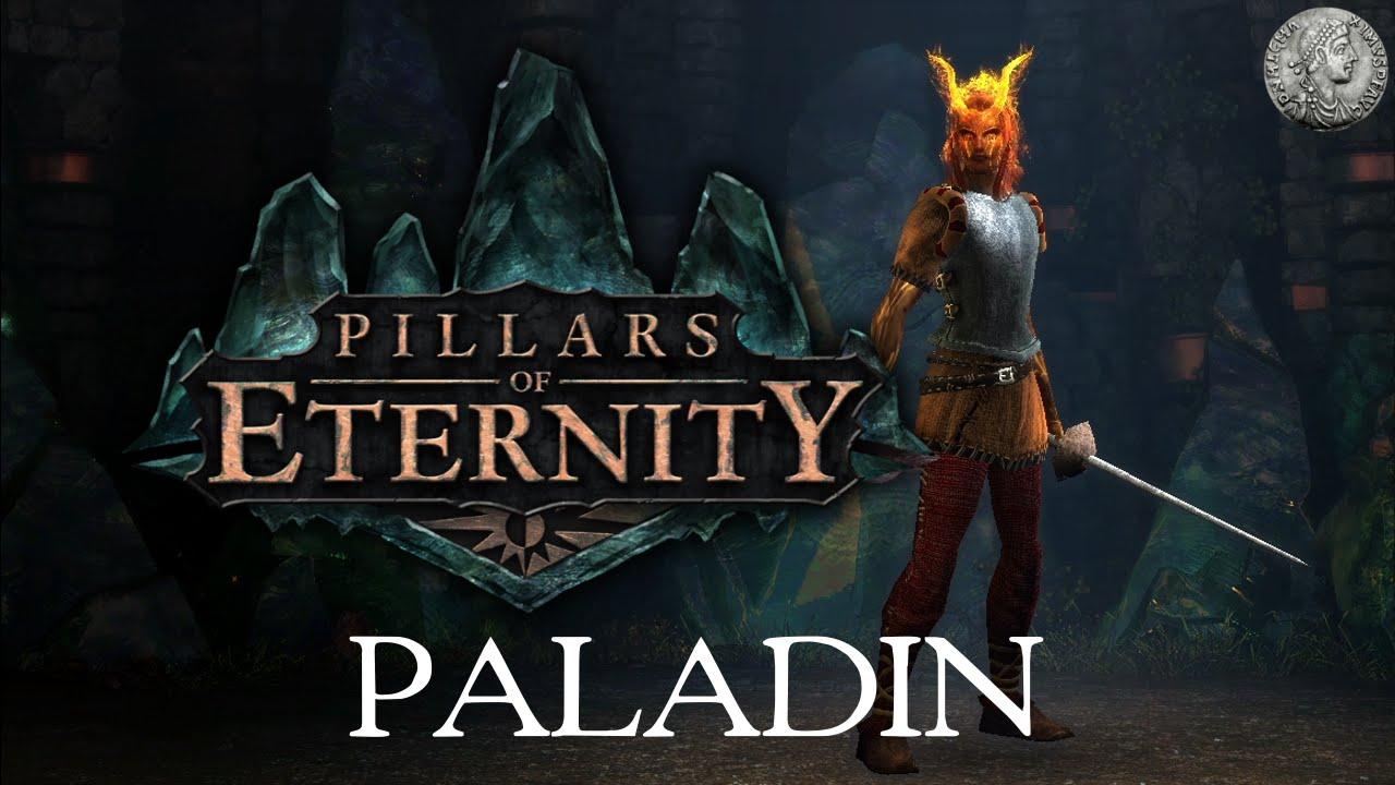 PIllars of Eternity - Character Creation Min-Max Guide - Paladin  (Frontline/Defensive) + Combat Demo