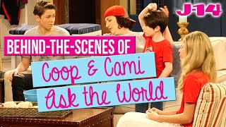 Behind-the-Scenes of Coop and Cami Ask the World Disney Channel Set