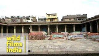 Jama Masjid, Tomb of Sultan Ahmad Shah I and Rani's Hajira in  Ahmedabad