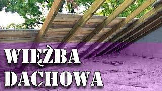 Dom za 100tys - Więźba dachowa, Deskowanie #44