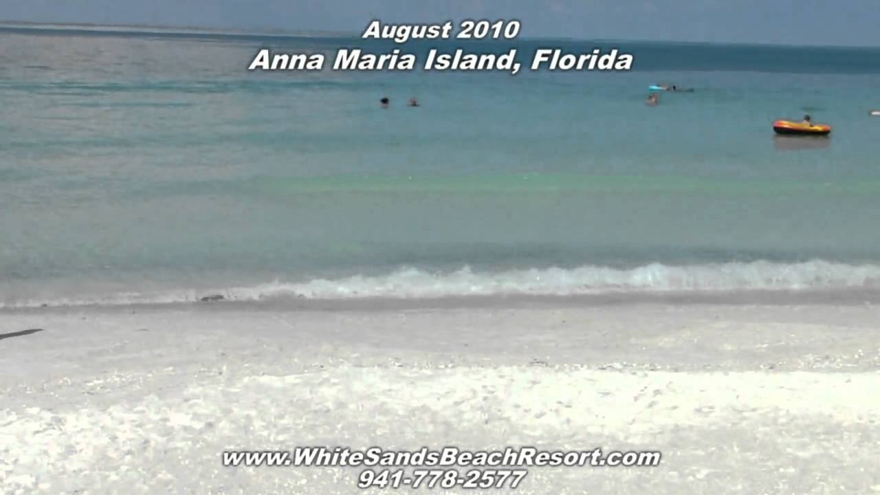 Anna Maria Island, Holmes Beach, Florida Gulf Coast beautiful beaches and  water crystal clear