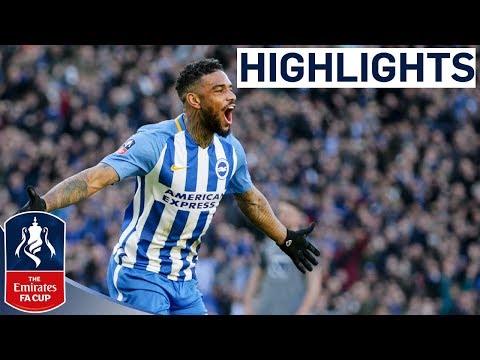 Brighton & Hove Albion 3-1 Coventry City | Locadia Scores on Debut | Emirates FA Cup 2017/18