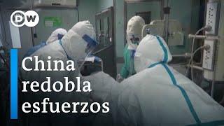 Hospitales desbordados en China