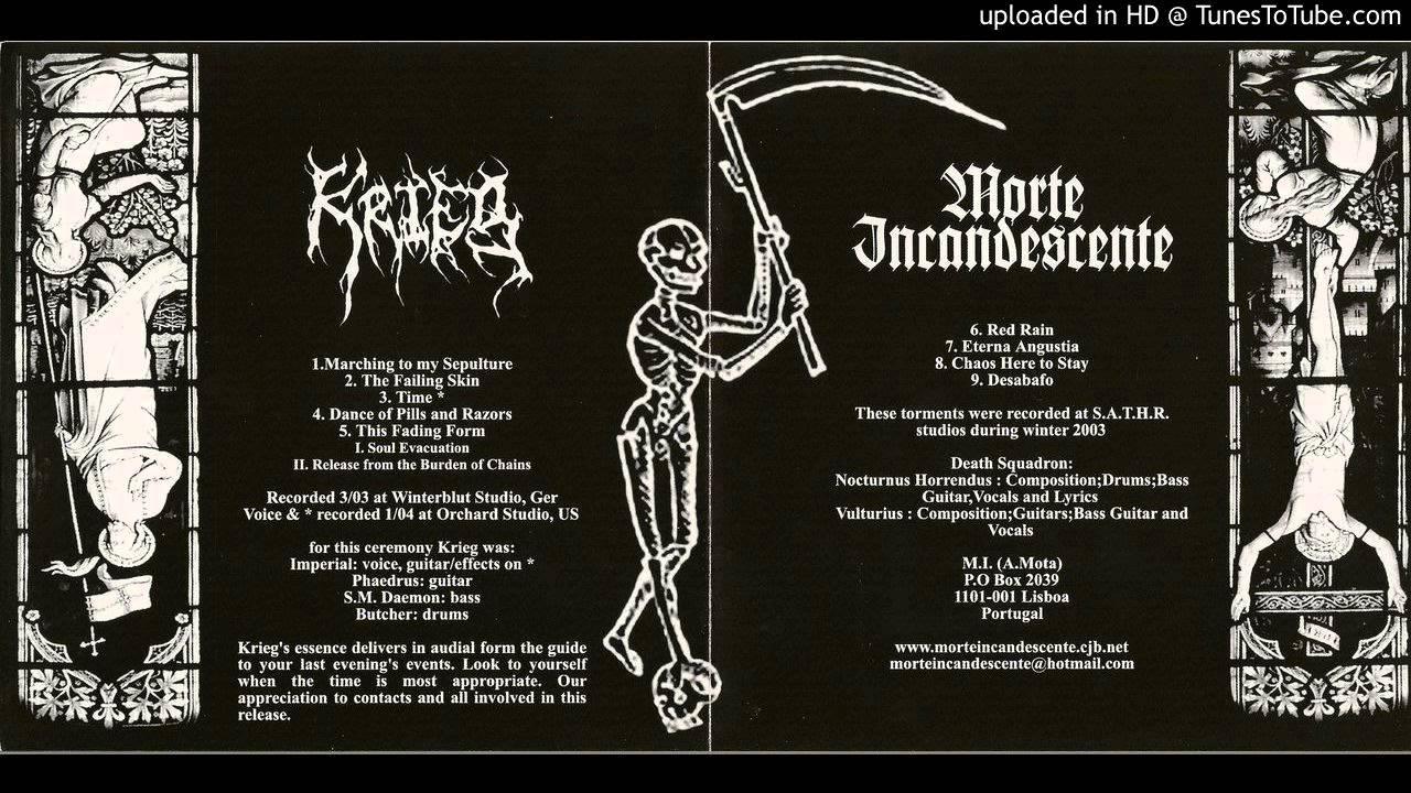 Release Of Morte Form   Krieg Dance Of Pills And Razors Youtube