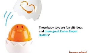 Easter Egg Toddler Toys TOMY Toomies Hide /& Squeak Eggs Matching /& Sorting Learning Toys FFP Top Toy for Easter Baskets