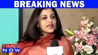 BJP Leader Shazia Ilmi Not Allowed To Speak On Triple Talaq