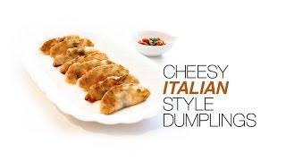 Cheesy Italian Style Dumplings