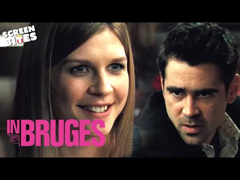 In Bruges  Colin Farrell Clémence Poésy dinner   HD VIDEO