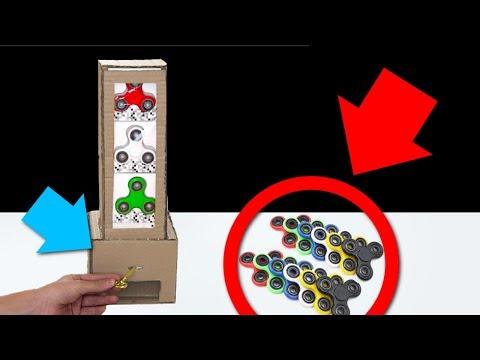 how to make a cardboard soda vending machine