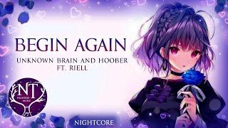Nightcore - Begin Again (Lyrics)